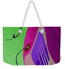 Lucille Weekender Tote Bag