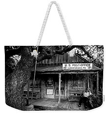 Weekender Tote Bag featuring the photograph Luckenbach Texas by David Morefield