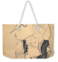 Lucky Gods Hotei Weekender Tote Bag