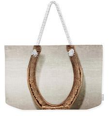 Lucky Horseshoe Weekender Tote Bag