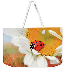 Lucky Lady Weekender Tote Bag by Donna Kennedy