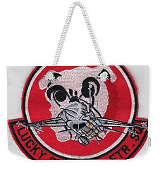 Lucky Puppy Weekender Tote Bag