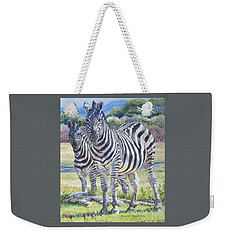Lucky Stripes Weekender Tote Bag