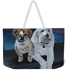 Lucy And Colby Weekender Tote Bag