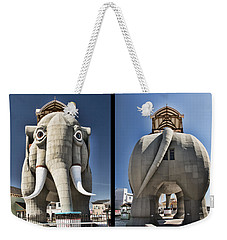 Lucy Coming And Going Weekender Tote Bag