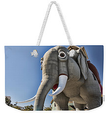 Lucy Elephant In Margate Weekender Tote Bag
