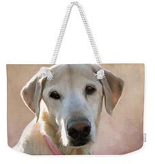 Lucy In Pink Weekender Tote Bag