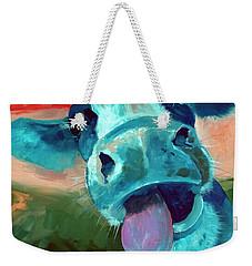 Lucy Weekender Tote Bag