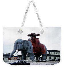 Lucy The Elephant 2 Weekender Tote Bag
