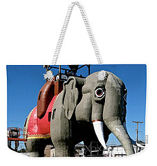 Lucy The Elephant Weekender Tote Bag