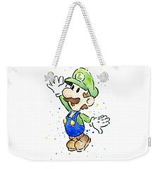 Luigi Watercolor Weekender Tote Bag