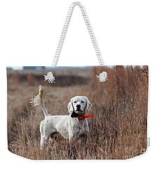 Weekender Tote Bag featuring the photograph Luke - D010076 by Daniel Dempster