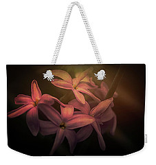Weekender Tote Bag featuring the photograph Lullingstone Castle Flowers by Ryan Photography