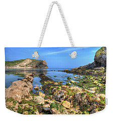 Lulworth Cove Entrance Weekender Tote Bag
