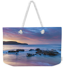Luminescent Sunrise Seascape Weekender Tote Bag