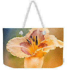 Weekender Tote Bag featuring the photograph Luminosity by Betty LaRue