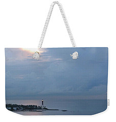 Luminous Lighthouse Weekender Tote Bag