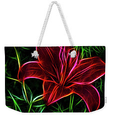 Luminous Lily Weekender Tote Bag by Joann Copeland-Paul