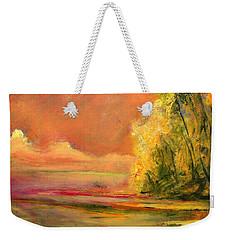 Luminous Sunset 2-16-06 Julianne Felton Weekender Tote Bag