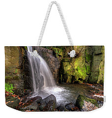 Weekender Tote Bag featuring the photograph Lumsdale Falls 3.0 by Yhun Suarez