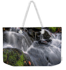 Weekender Tote Bag featuring the photograph Lumsdale Falls 5.0 by Yhun Suarez