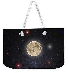 Luna Lux Weekender Tote Bag