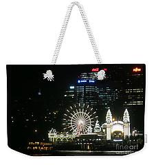 Luna Park Weekender Tote Bag by Leanne Seymour