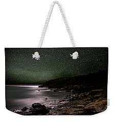 Lunar Eclipse Over Great Head Weekender Tote Bag
