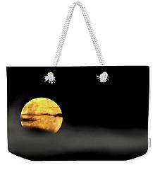 Lunar Mist Weekender Tote Bag