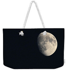 Weekender Tote Bag featuring the photograph Lunar Surface by Angela Rath