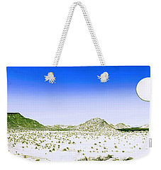 Lunar Wilderness Weekender Tote Bag