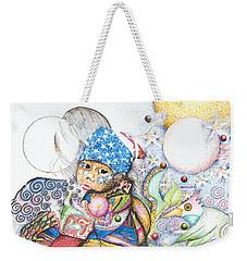 Lunas Y Estrellas Perdidas- Sombra De Arreguin Weekender Tote Bag