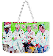 Lunch At The Slaughter House Weekender Tote Bag
