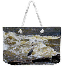 Lunch In The James River 1 Weekender Tote Bag