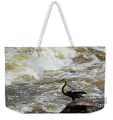 Lunch In The James River 4 Weekender Tote Bag