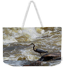 Lunch In The James River 5 Weekender Tote Bag