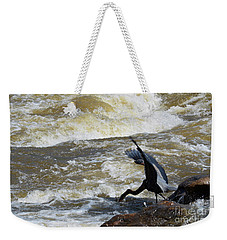 Lunch In The James River 6 Weekender Tote Bag