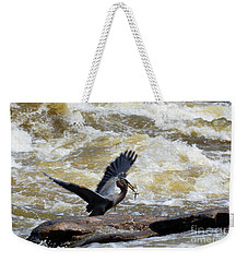 Lunch In The James River 7 Weekender Tote Bag