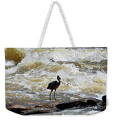 Lunch In The James River 9 Weekender Tote Bag