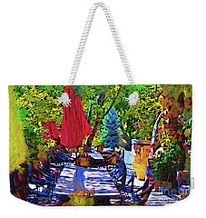 Lunch In Wine Country Weekender Tote Bag