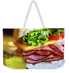 Lunch Is Served Weekender Tote Bag
