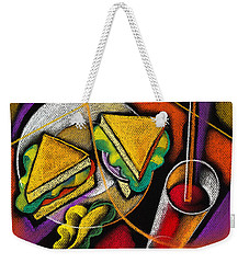 Lunch Weekender Tote Bag