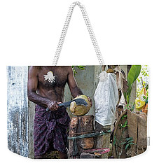 Lunch Weekender Tote Bag by Marion Galt