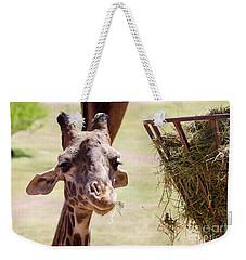 Lunch Time Weekender Tote Bag by Afrodita Ellerman