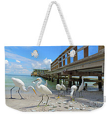 Lunch Time Weekender Tote Bag