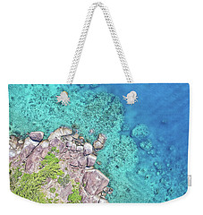 Weekender Tote Bag featuring the photograph Luncheon Bay, Hook Island by Keiran Lusk