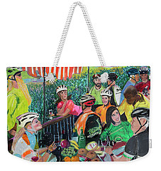 Pastel-luncheon Of The Cycling Party Weekender Tote Bag