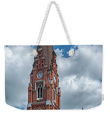 Weekender Tote Bag featuring the photograph Lund All Saints Church by Antony McAulay