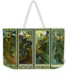 Lune Et Etoiles 1902 Weekender Tote Bag by Padre Art
