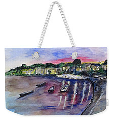 Luogo Mergellina, Napoli Weekender Tote Bag by Clyde J Kell